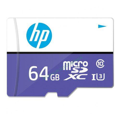 Tarjeta memoria 64gb micro sd xc hp original u3 original 4k