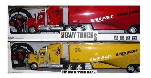 Camion Tractomula A Control Inalambrico Navidad
