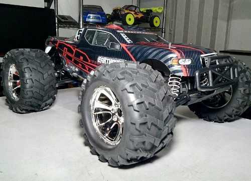 Carro Monster Truck Earthquake Nitro 3.5 Gasolina Rc 85km/h.
