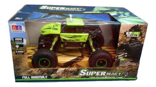 Carro Super Magy 4wd Control Remoto 4x4 Todo Terreno M 1/16