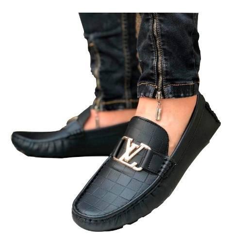 Mocasines Hombre,zapatos Tubular,tipo Louis Vuitton