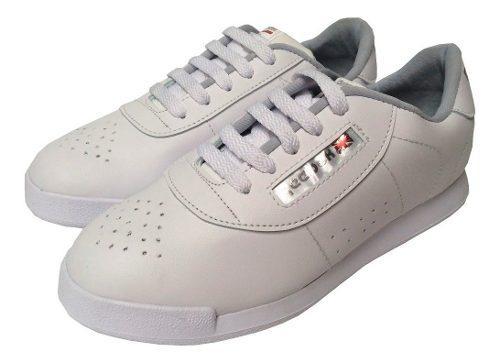 Zapato Zapatilla Tenis Colegial Blanco Niños Niñas