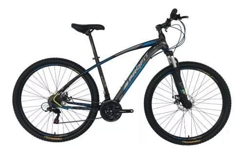 Bicicleta optimus profit arizona 7 velocidades suspensión