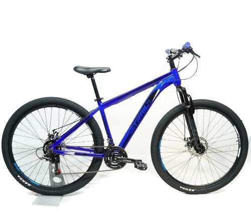 Bicicleta todoterreno on trail mtb 29 aluminio disco 21vel