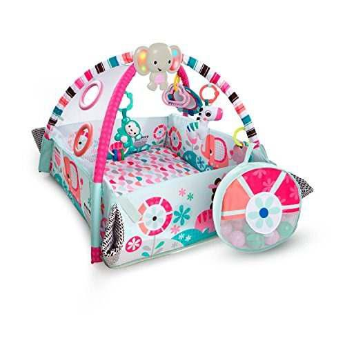 Bright starts 5in1 your way ball juega pink activity gym