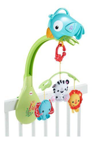 Fisher price móvil musical 3 en 1 rainforest bebe niño