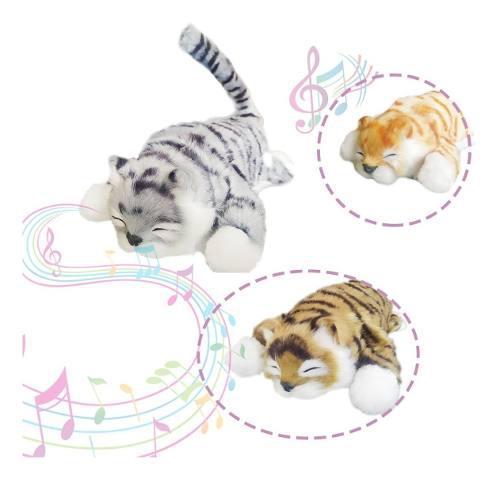 Gato peluche juguete sonido movimientos juguetería