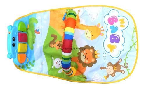 Gimnasio bebe musical piano divertido juguete niña niño
