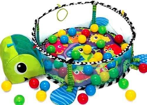 Gimnasio, corral, piscina de pelotas juguete didáctico
