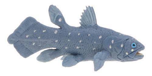 Juguete de animal oceánicos modelo de celacanto de océano