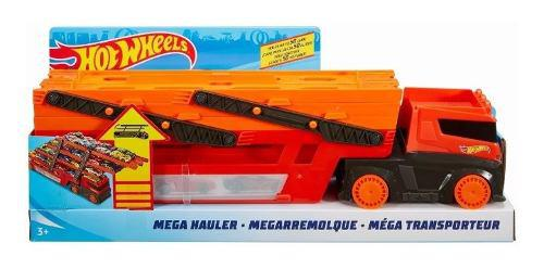 Pista niñera hot wheels mega camión mega hauler entrega ya