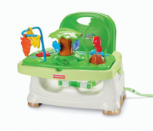 Silla comedor fisher price rainforest - entrega ya
