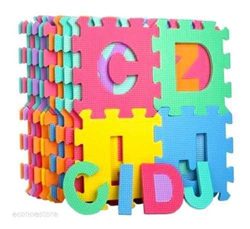 Tapete foamy fomi fomy bebes niño abecedario letras fm02