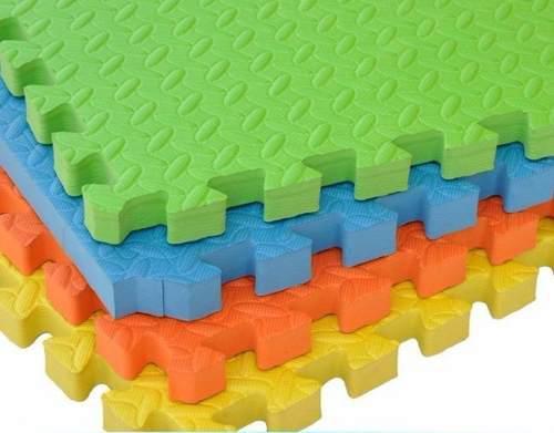 Tapete fomi fomy foamy tableta extragrande 4 fichas 60x60 cm