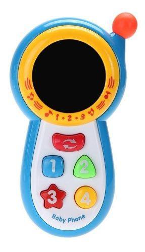 Teléfono celular para bebes juguete didáctico musical ajd