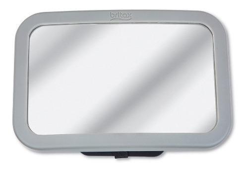 Espejo silla trasera auto color gris marca britax