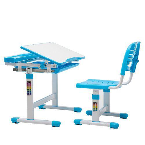 Escritorio y silla infantil ergonómico epa chamo niño azul