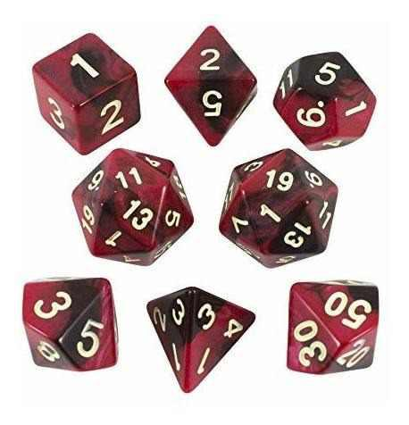 Juego de rol de paladin dados juego de poliedral expandido c