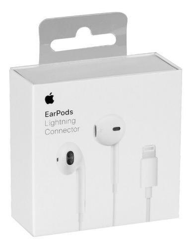 Apple earpods iphone 7, 8, x lightning 100% originales