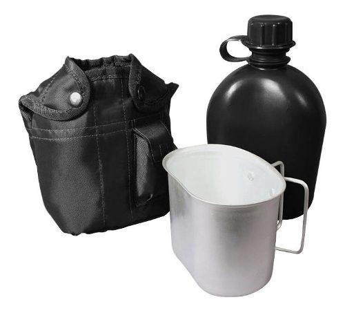 Cantimplora militar americana 1 litro camping aire libre c01