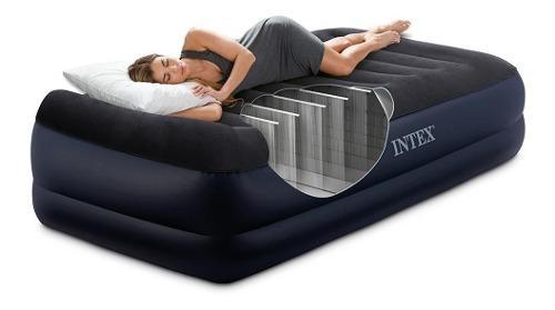 Colchon tipo cama sencillo inflable dura beam de lujo