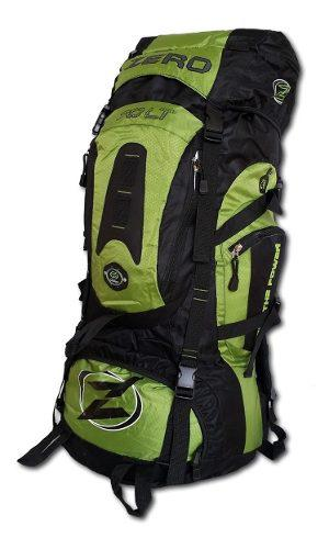 Morral camping zero resistente 70 lt total 90 litros maleta