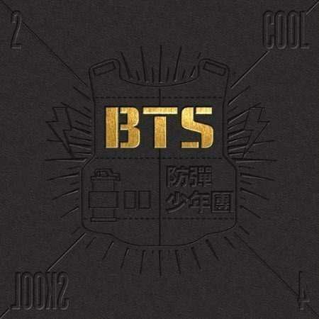 Bts single album [2 cool 4 skool] cd, photobook y extra