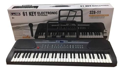 Organeta musical teclado electrónico modelo de enseñanza