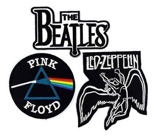 Set_rock010 - pink floyd patch, los parches de banda beatles