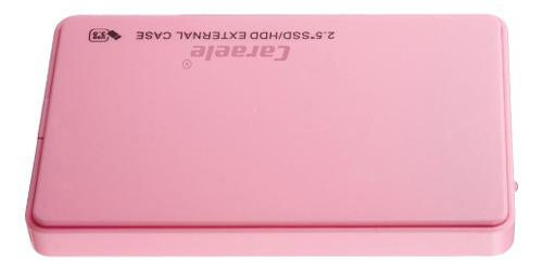 Disco duro externo sata usb 3.0 2.5 in 2 tb c/carcasa (rosa)