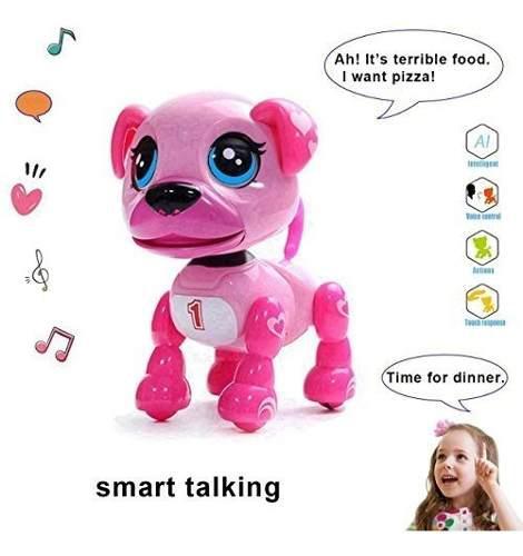 Amdohai cachorro interactiva - mascota inteligente, juguete