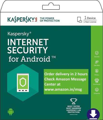 Antivirus kaspersky internet security para android 2 devices