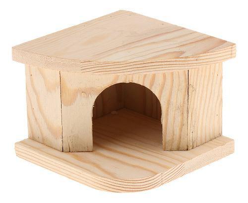 Casa animales pequeños choza juguete complimentos mascota