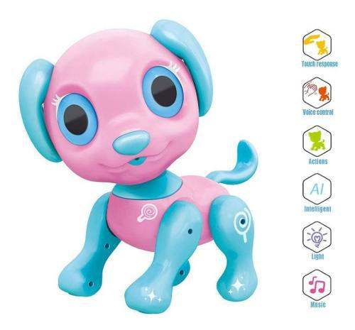 Juguete electrónico para mascotas perro robot