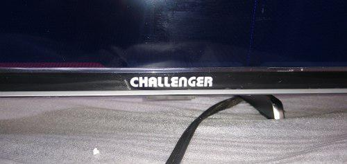 Televisor led smart tv 40 pulgadas challenger pantalla rota