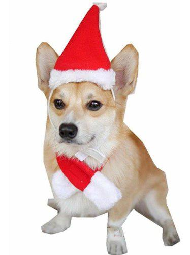 Sombreros navideños para mascotas con bufanda, gorro f...