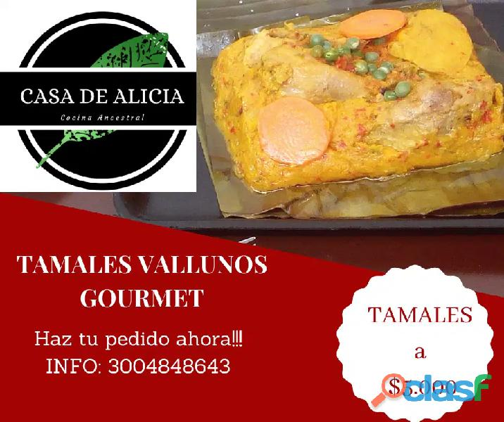 Tamales vallunos cali