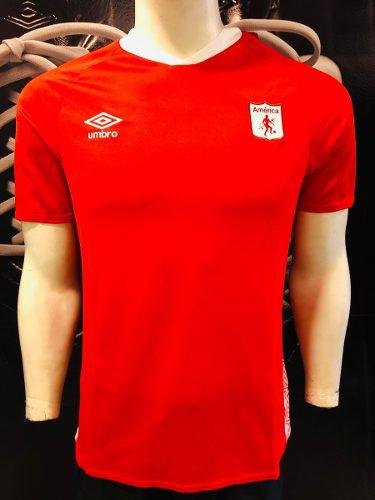 América de cali camiseta umbro original 19/20 roja m l xl