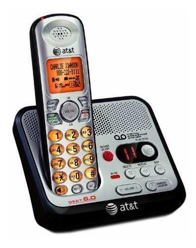 At & t el52100 dect 6.0 teléfono inalámbrico con