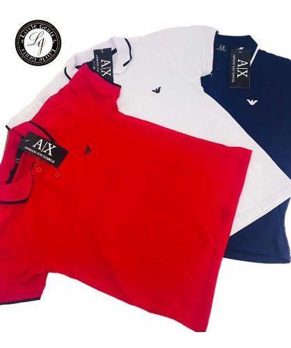 Camisa polo boss para niño rojo-rojo tallas 2-12