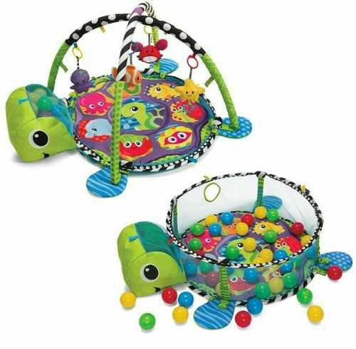Gimnasio corral piscina con pelotas juguete para bebés