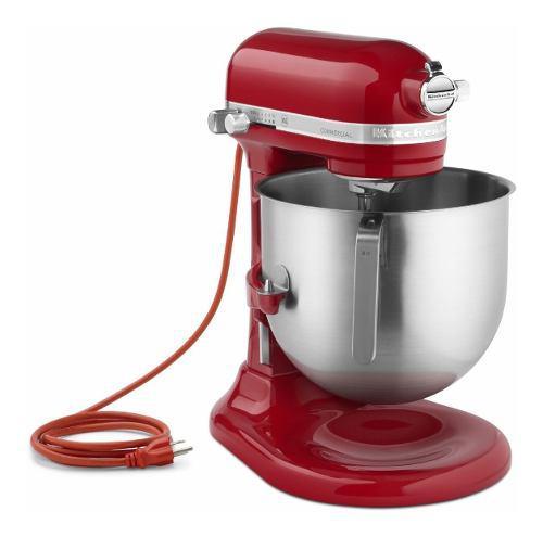 Batidora comercial roja 7,6 lts 120 v - ksm8990er kitchenaid