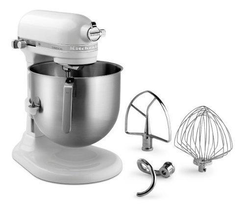 Batidora kitchenaid comercial blanca ksm8990wh