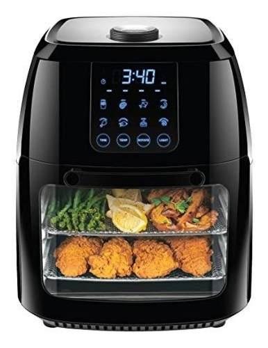 Chefman horno + freidora sin aceite digital air fryer 6 l