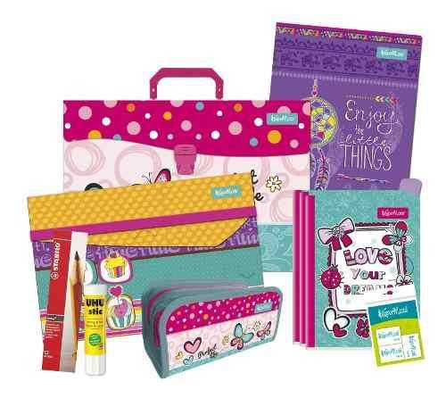 Kit escolar colorfull niña o niño regreso a clases