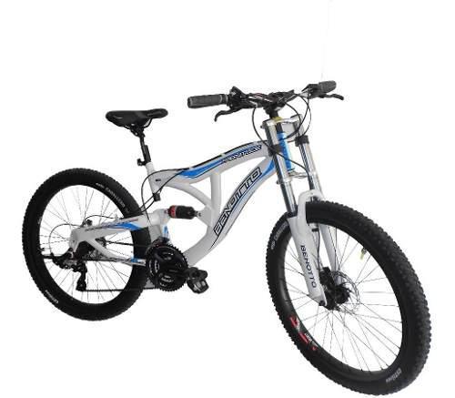Bicicleta benotto doble suspensión disco hidrauldico