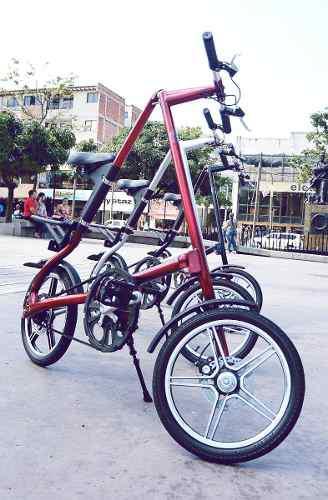 Bicicleta plegable aleación de aluminio muy liviana.