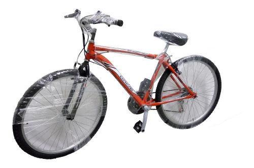 Bicicleta todoterreno montaña 18v cambio moto rin 26 drive