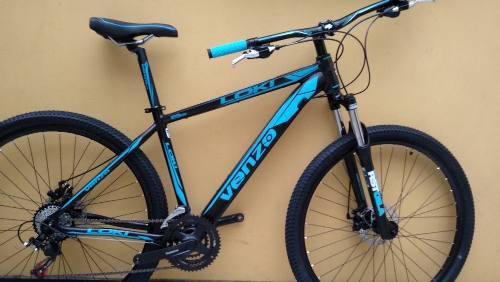 Bicicleta venzo loki rin 29, shimano 24 velocidades. bloqueo