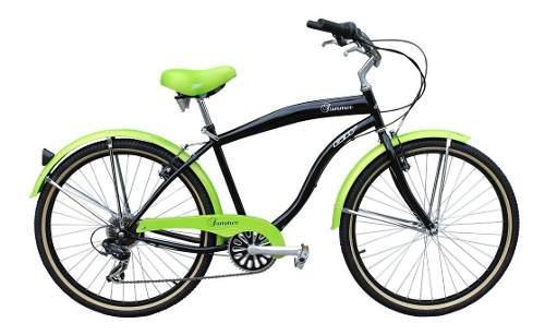 Bicicletas gw playera summer negro 7vel rin 26 hombre mtb